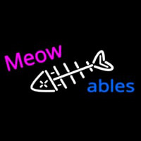 Meow Ables Neon Sign