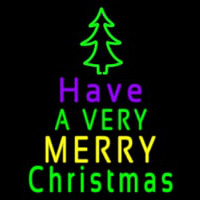 Merry Christmas And Happy New Year Neon Sign