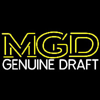Mgd Beer Sign Neon Sign