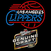 Mgd Los Angeles Clippers NBA Beer Sign Neon Sign