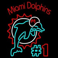 Miami Dolphins  NFL Neon Sign Neon Sign