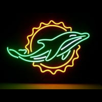 Miami Dolphins Neon Sign Neon Sign