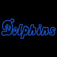 Miami Dolphins Wordmark   Logo NFL Neon Sign Neon Sign