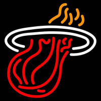 Miami Heat Alternate 1999 00 Pres Logo NBA Neon Sign Neon Sign