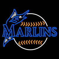 Miami Marlins Alternate 1993 2004 Logo MLB Neon Sign Neon Sign
