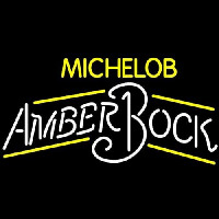 Michelob Amber Bock Neon Sign