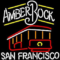 Michelob Amber Bock San Francisco Neon Sign