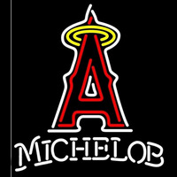 Michelob Anaheim Angels MLB Beer Sign Neon Sign