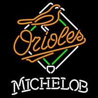 Michelob Baltimore Orioles MLB Beer Sign Neon Sign