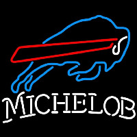Michelob Buffalo Bills NFL Neon Sign Neon Sign