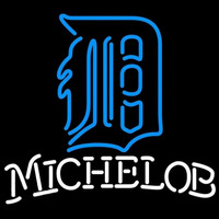 Michelob Detroit Tigers MLB Beer Sign Neon Sign