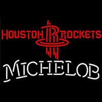 Michelob Houston Rockets NBA Beer Sign Neon Sign