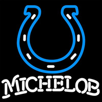 Michelob Indianapolis Colts NFL Neon Sign Neon Sign