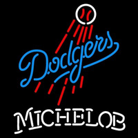 Michelob Los Angeles Dodgers MLB Beer Sign Neon Sign