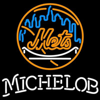 Michelob New York Mets MLB Beer Sign Neon Sign