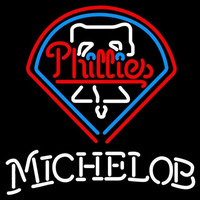 Michelob Philadelphia Phillies MLB Beer Sign Neon Sign