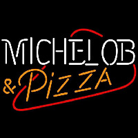 Michelob Pizza Beer Sign Neon Sign