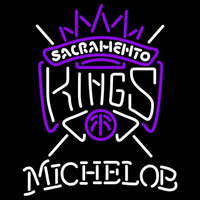 Michelob Sacramento Kings NBA Beer Sign Neon Sign