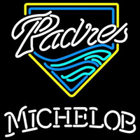 Michelob San Diego Padres MLB Beer Sign Neon Sign