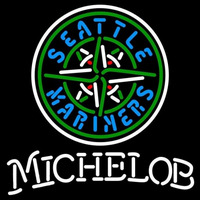 Michelob Seattle Mariners MLB Beer Sign Neon Sign