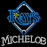 Michelob Tampa Bay Rays MLB Beer Sign Neon Sign