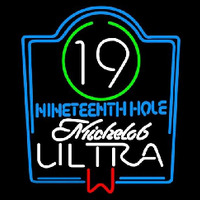 Michelob Ultra 19th Hole Beer Sign Neon Sign