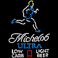 Michelob Ultra Light Low Carb Jogger Beer Sign Neon Sign