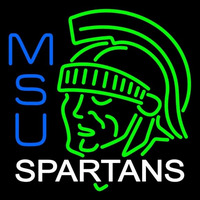 Michigan State Spartans Alternate 1978 1982 Logo NCAA Neon Sign Neon Sign