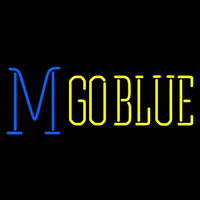 Michigan Wolverines Misc 1996 Pres Logo NCAA Neon Sign Neon Sign