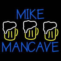 Mike Man Cave Neon Sign