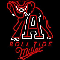 Miller Alabama Roll Tide Beer Neon Sign