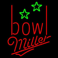Miller Bowling Alley Beer Sign Neon Sign