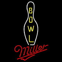 Miller Bowling Beer Sign Neon Sign
