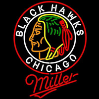 Miller Commemorative 1938 Chicago Blackhawks Beer Sign Neon Sign