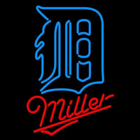 Miller Detroit Tigers MLB Beer Sign Neon Sign