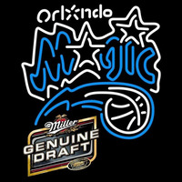Miller Genuine Draft Orlando Magic NBA Beer Sign Neon Sign