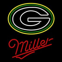 Miller Green Bay Packers NFL Neon Sign Neon Sign