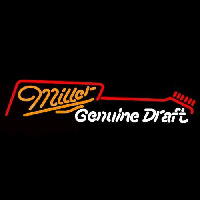 Miller Guitar Beer Sign Neon Sign