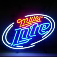 Miller Late Beer Neon Sign