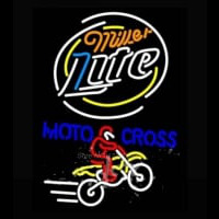 Miller Light Motocross Neon Sign