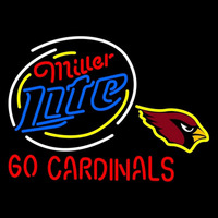 Miller Lite Arizona Cardinals Neon Sign Neon Sign