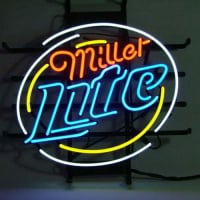 Miller Lite Beer Neon Sign