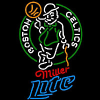 Miller Lite Boston Celtics NBA Beer Sign Neon Sign
