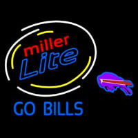 Miller Lite Buffalo Go Bills Neon Sign Neon Sign