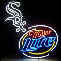 Miller Lite Chicago White Sox Neon Neon Sign