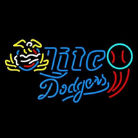 Miller Lite Dodgers Baseball Beer Sign Neon Sign