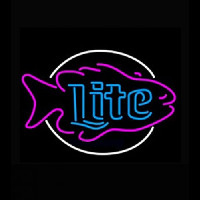 Miller Lite Fish Neon Sign