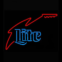Miller Lite Guitar Neon Sign