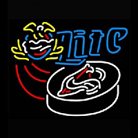Miller Lite Hockey Neon Sign
