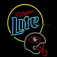 Miller Lite San Francisco 49Ers Neon Signs Neon Sign
